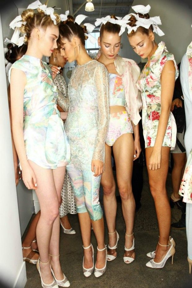Mercedes Benz Fashion Week in Sydney for the Zimmerman 2012/13 Cruise collection |  Source