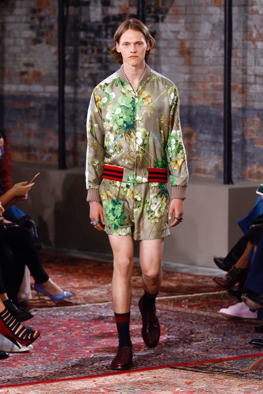 Ryan opening for Gucci Cruise 2016 | Want Management