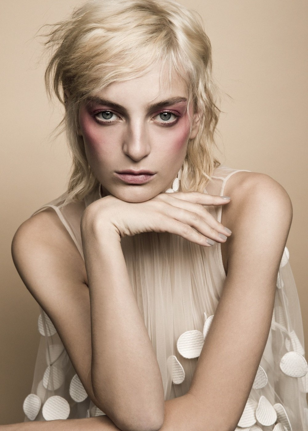 Rose Smith shot by Brooke Coffey for  Models.com , styling by Liz Cresci, hair by Stefano Greco, makeup by Maki H