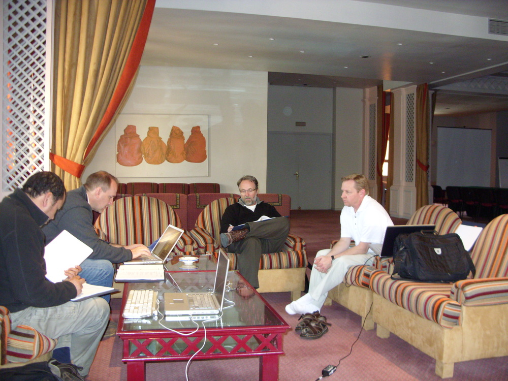 Morocco, Script Breakdown Session