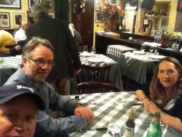 Lunch with Casting Director, Kate Dowd, and Director, Bruce Neibaur