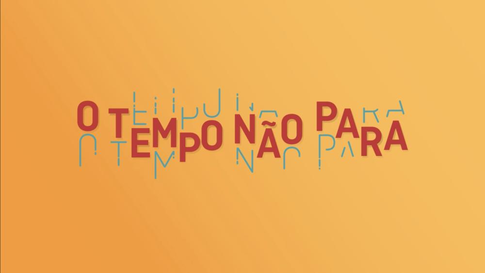 O Tempo Nao Para_Logo