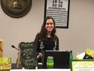 Lauren was invited to be a speaker at a leadership summit at the Georgia State Capital for the entire state Georgia Student Council.