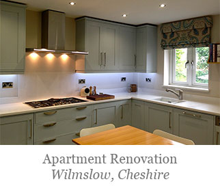 Apartment renovation Wilmslow