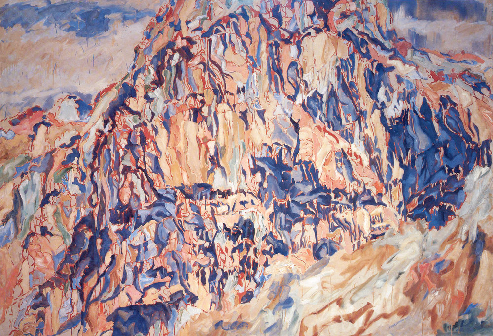 POSITANO #1 , 1960 Oil on canvas 64 x 96 inches