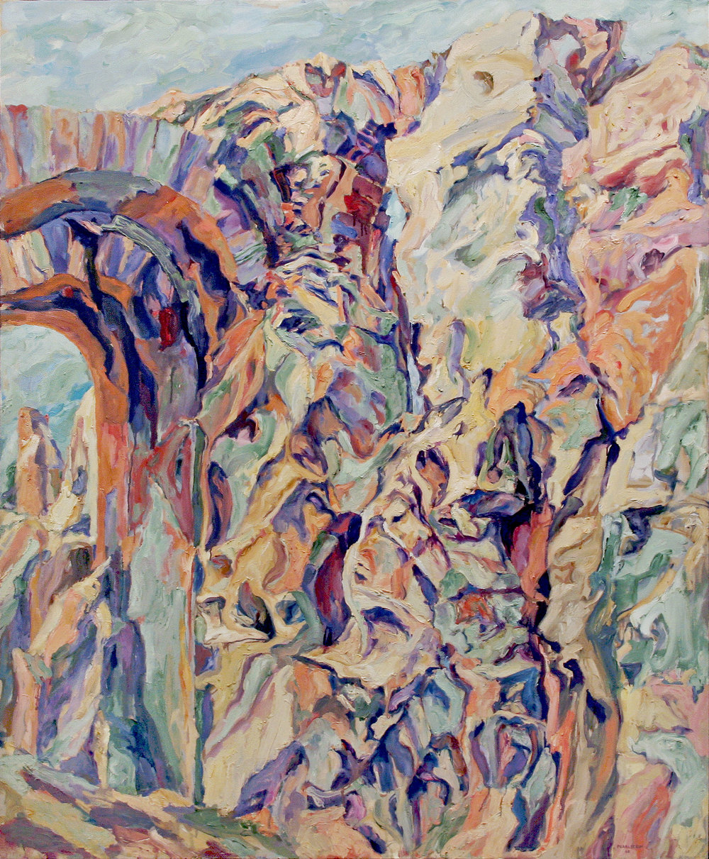 IMPERIAL PALACE #7 , 1960 Oil on canvas 58 x 48 inches