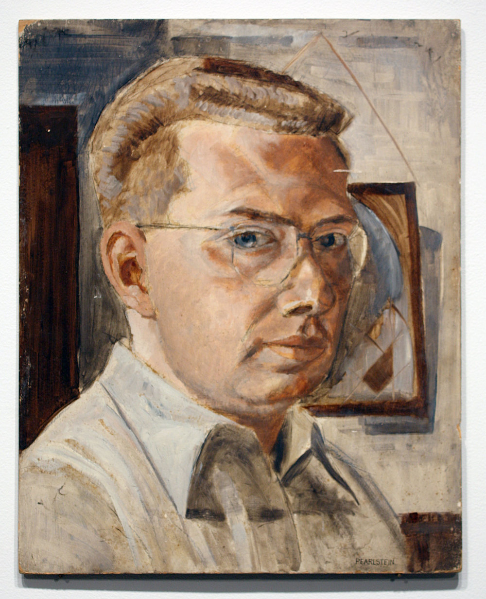 Self Portrait , 1948 Casein on Board 20 x 16 inches