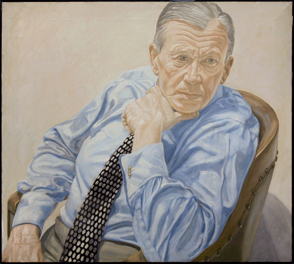 Portrait of Herbert Levine , 1969 Oil on canvas 36 x 40 inches