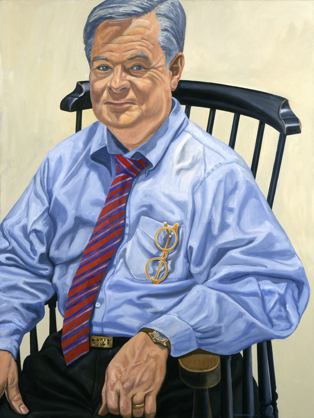 PORTRAIT OF JIM DICKE II , 2006 Oil on canvas 48 x 36 inches