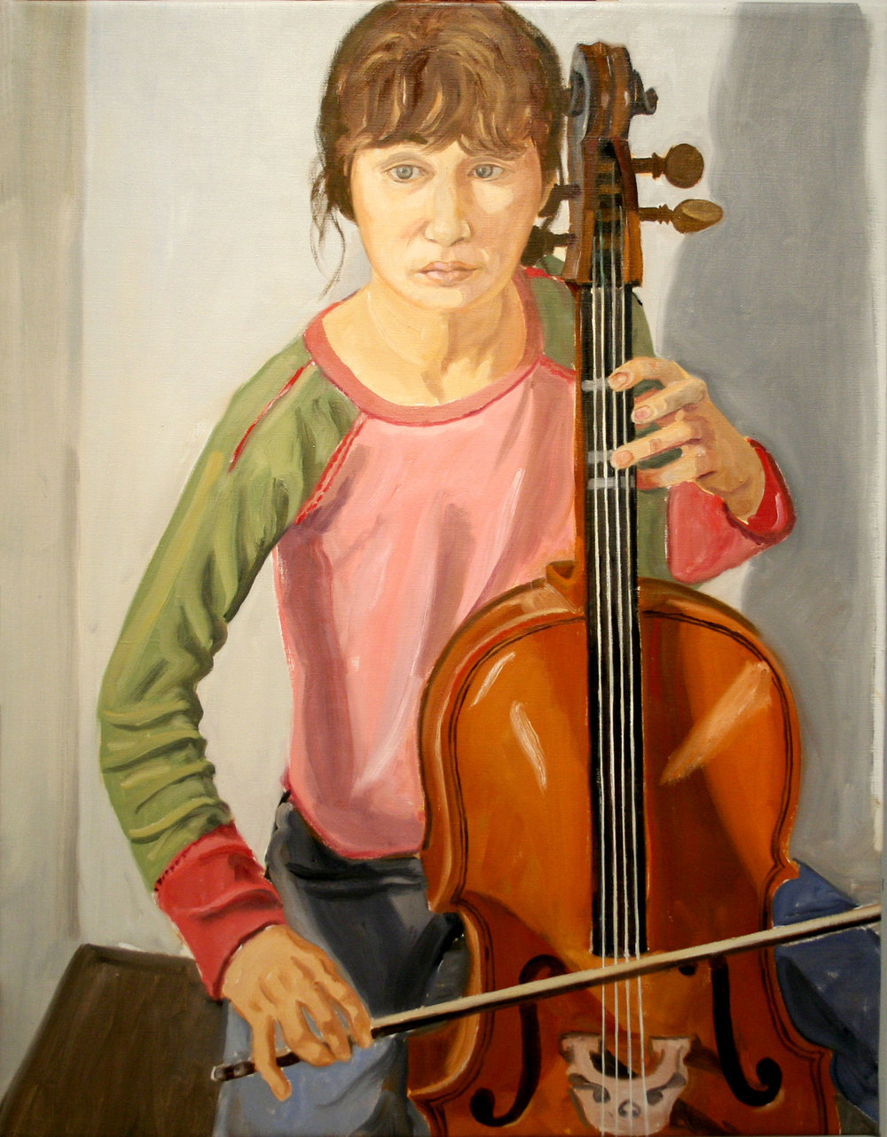 SOPHIE (Artist's Granddaughter) , 2006 Oil on canvas 36 x 28 inches