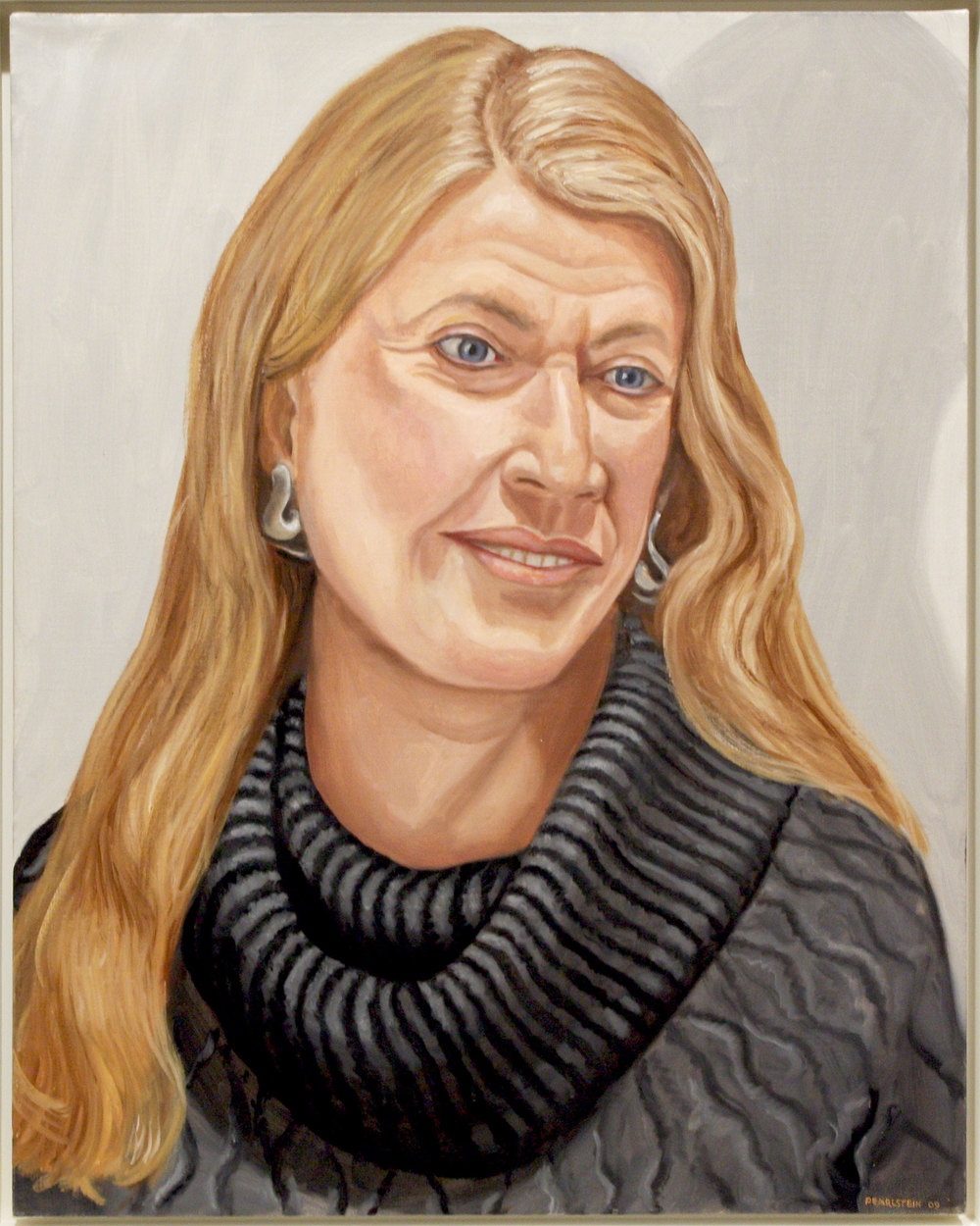 BARBARA HOFFMAN , 2009 Oil on canvas 28 x 22 inches