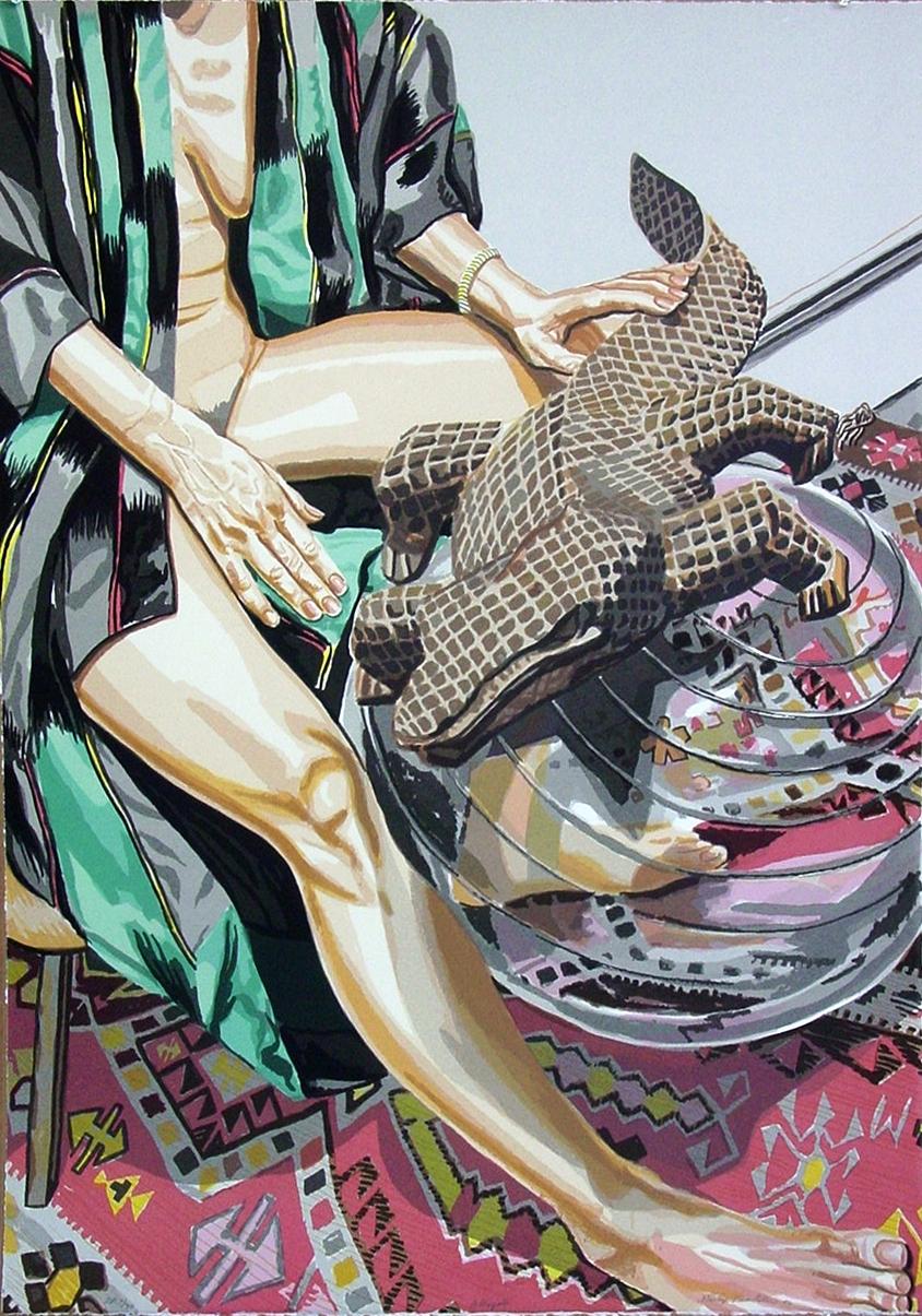 Alligator , 2006 Silkscreen 29 x 41 in