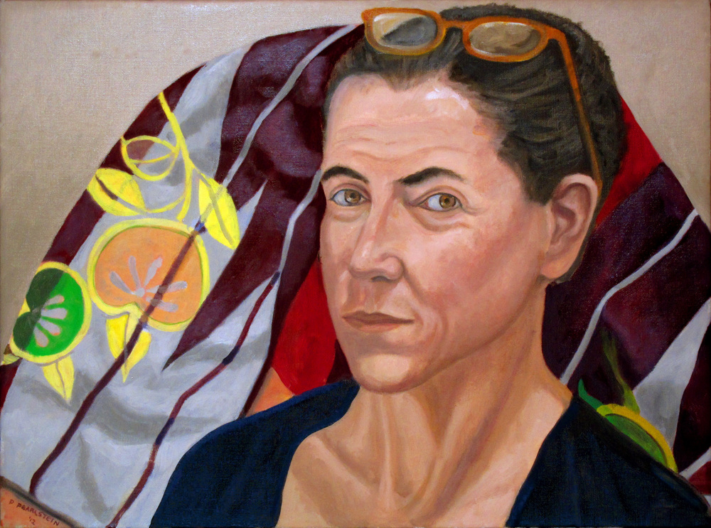 Claudia Aronow , 2012 Oil on canvas 18 x 24 in