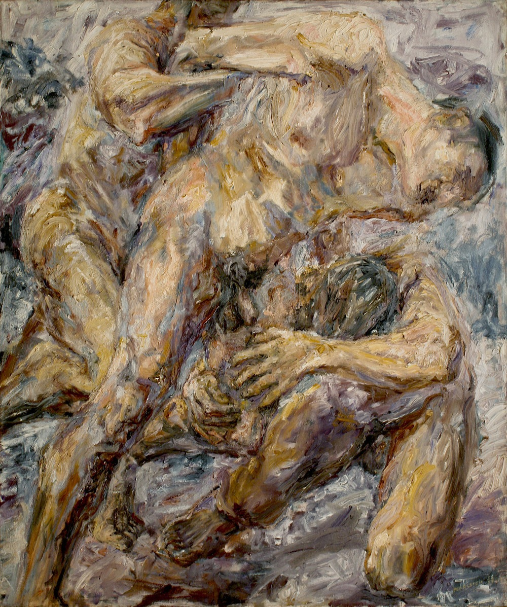The Capture , 1954 Oil on canvas 48 x 40 inches