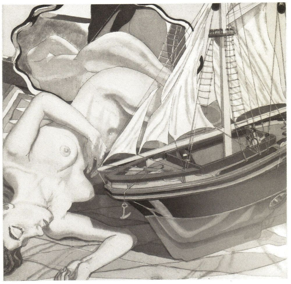 1993, Model Boat, Etching.jpg
