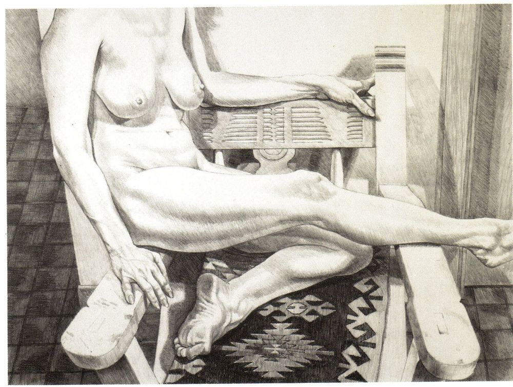 1984, Nude in New Mexico, 1984, Lithograph, 25x34.jpg