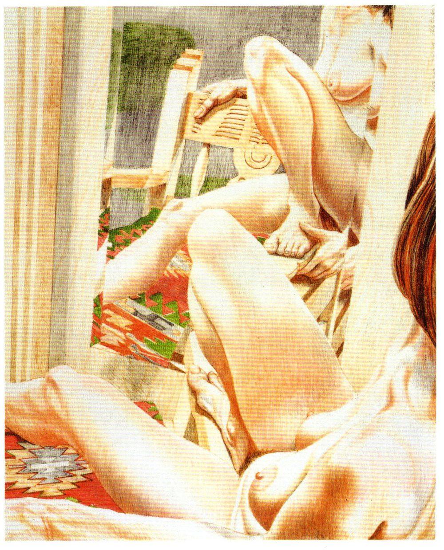 1983, Fiesta Nude, Lithograph, 25.375x20.5.jpg