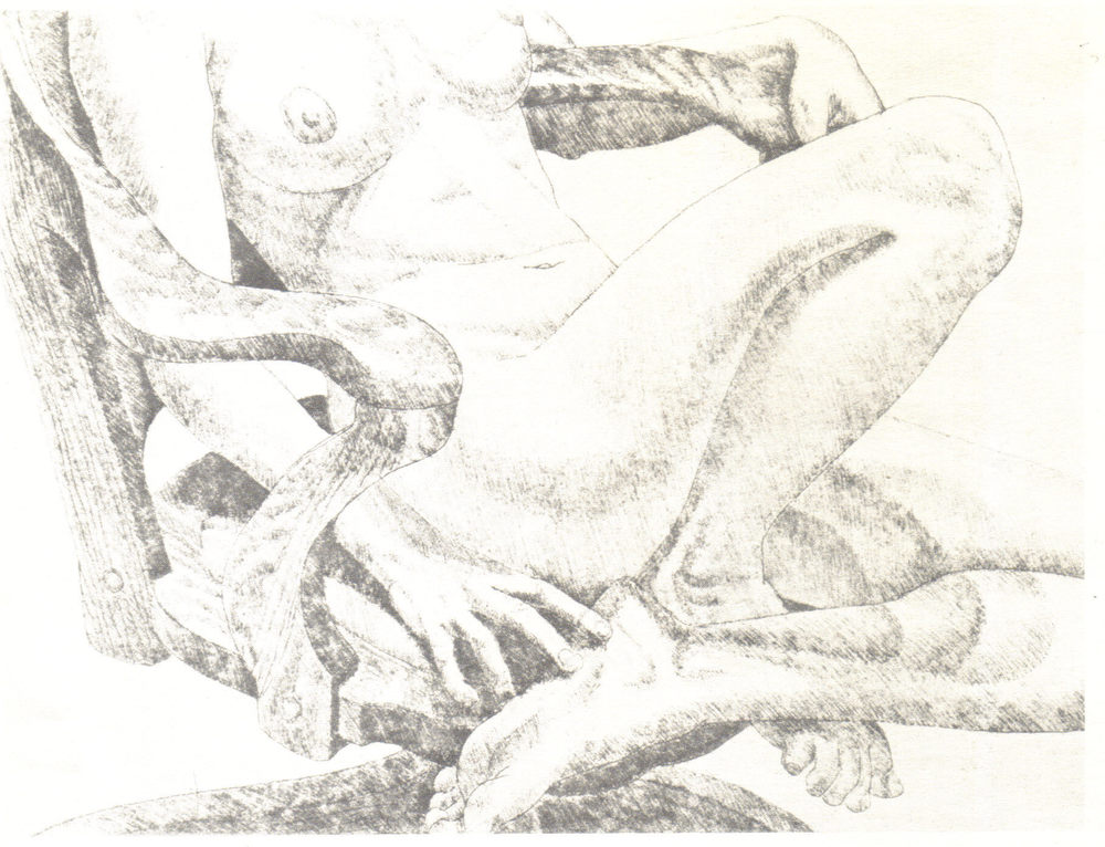 1978, Nude on Oak Chair, 22.9x30.5 cm, soft-ground etching.jpg