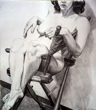 1978, Nude on a Directors Chair, PPS136.JPG