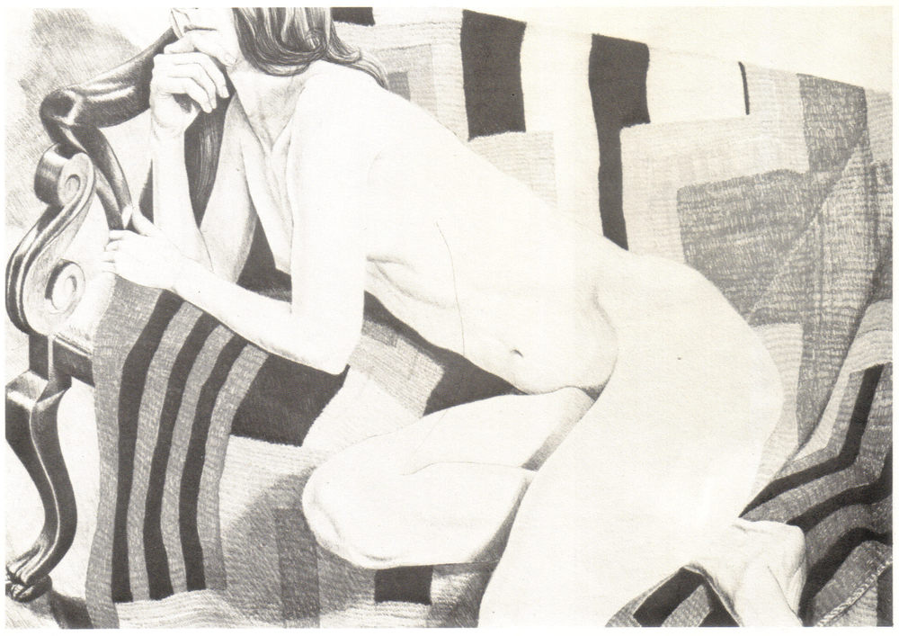 1978, Nude on Chief's Blanket, 71x101.5 cm, color lithograph.jpg