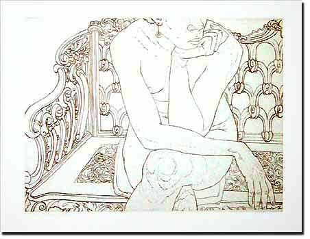 1975, Nude on Iron Bench, 1975.jpg