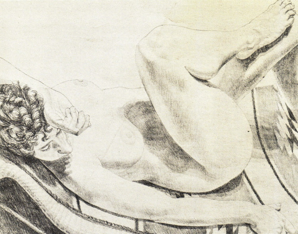 1972, Nude Reclining on Her Back, 1972, Lithograph, 50.8x65.4 cm.jpg