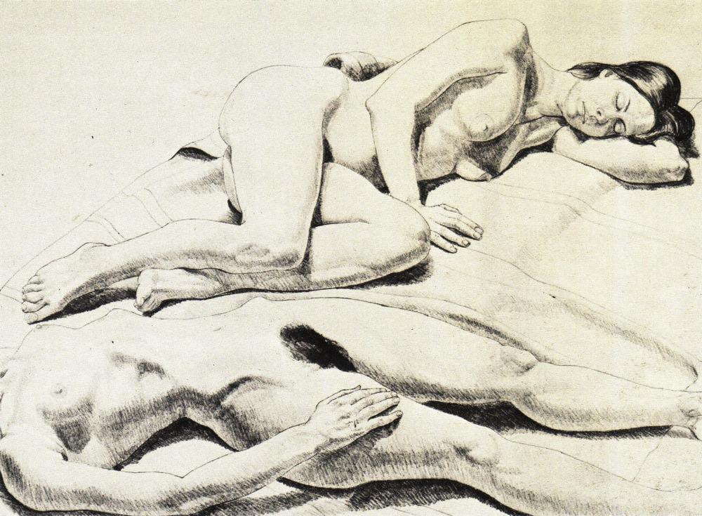 1971, Two Reclining Nudes, Lithograph, 56x76 cm.jpg
