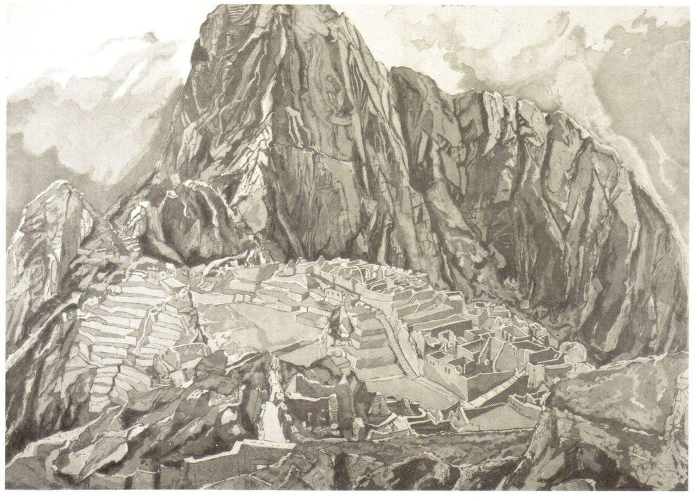 1978-79, Macchu Pichu, 1978-79, Etching.jpg