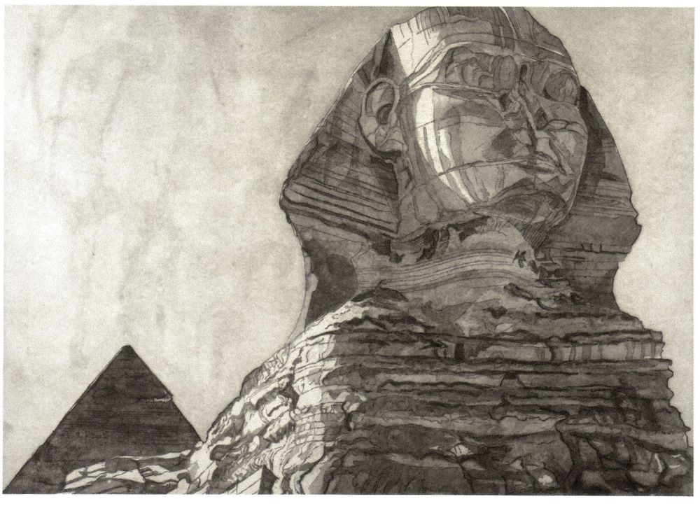 1979, The Sphinx, 1979, Etching.jpg