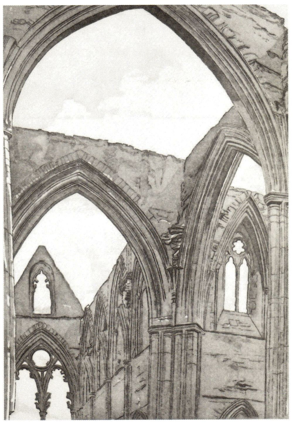 1979, Tinturn Abbey, Etching.jpg
