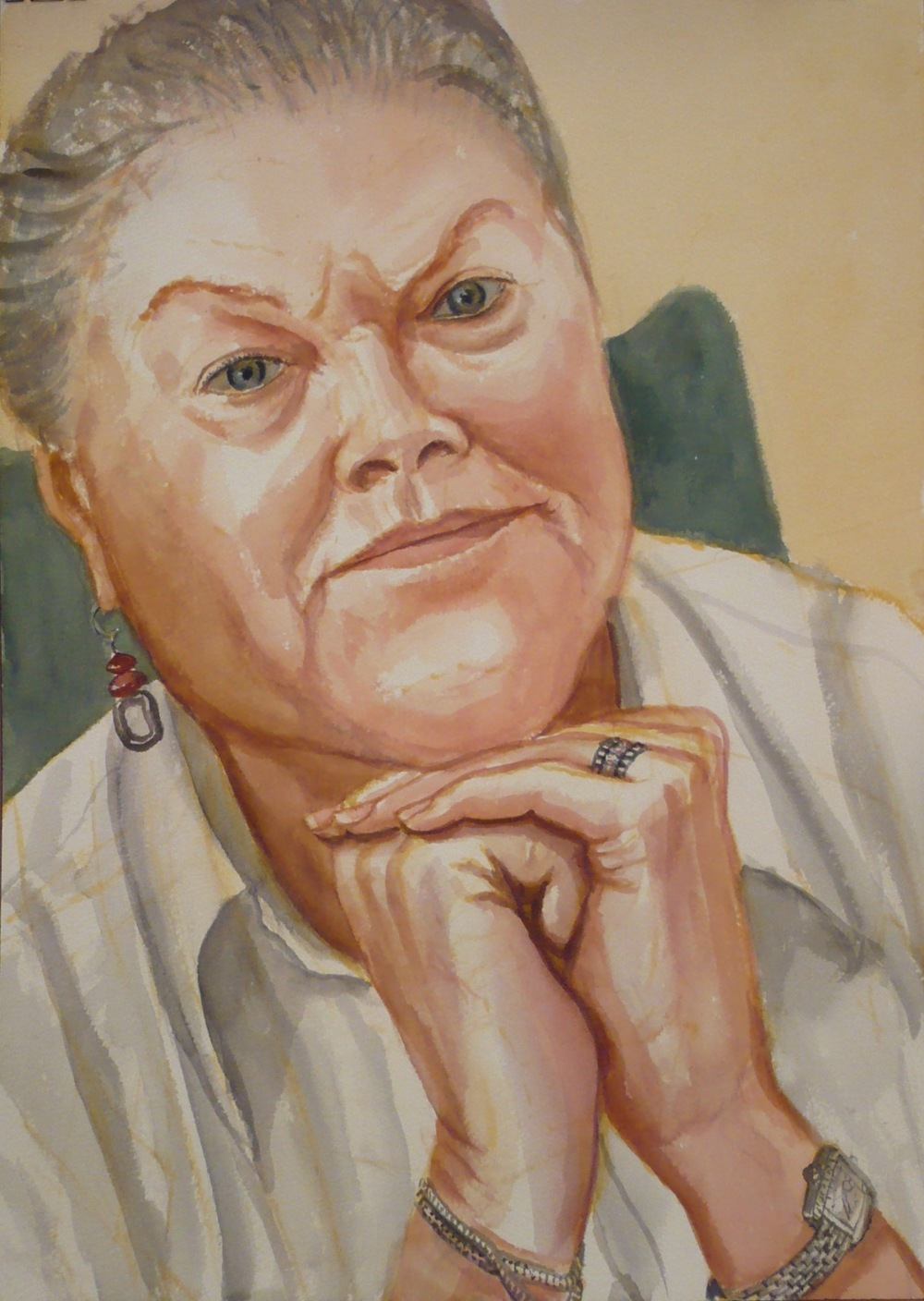 Peggy Tenner , 2010 Watercolor 20 x 14 in