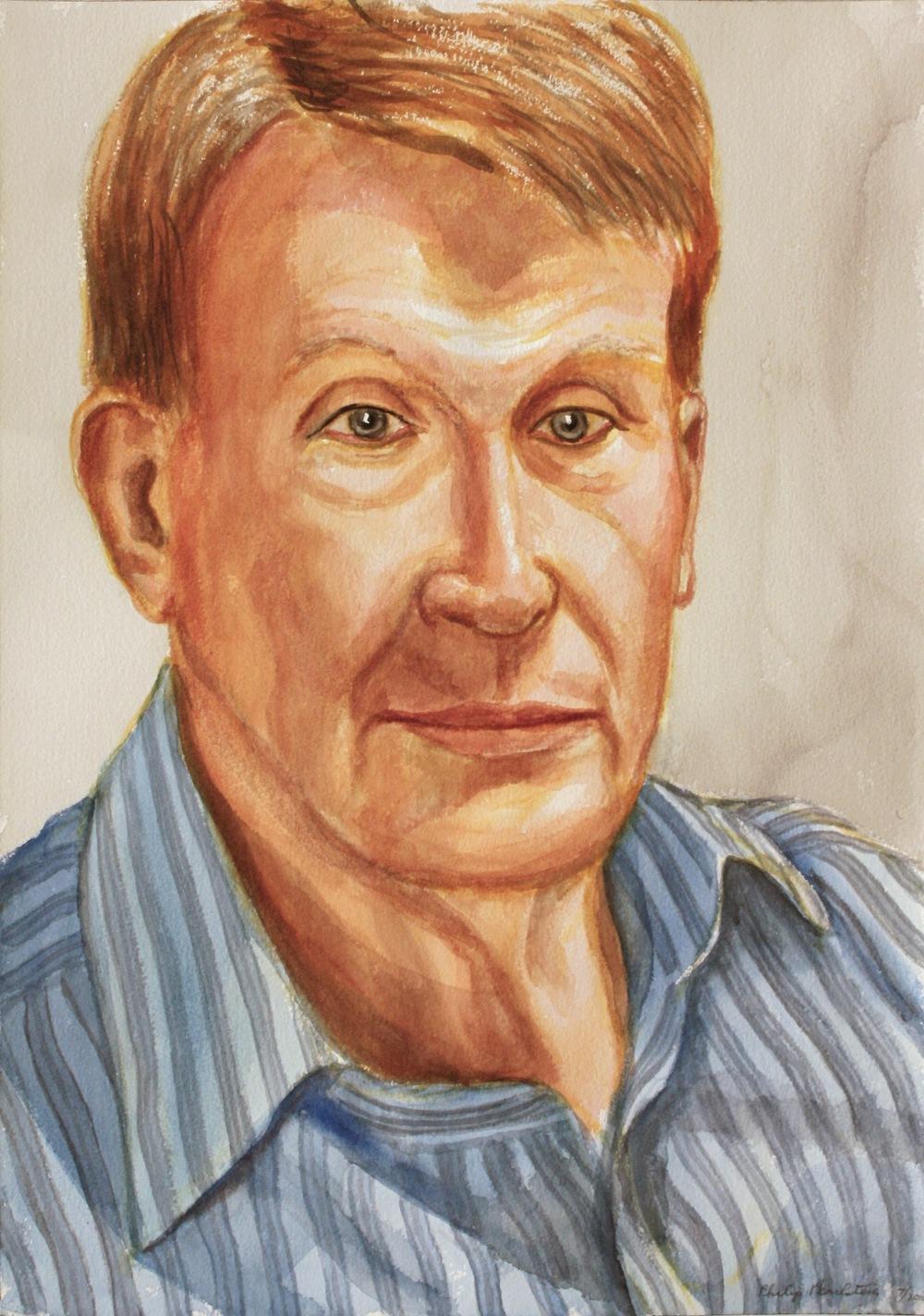 Ashton Sulton , 2010 Watercolor