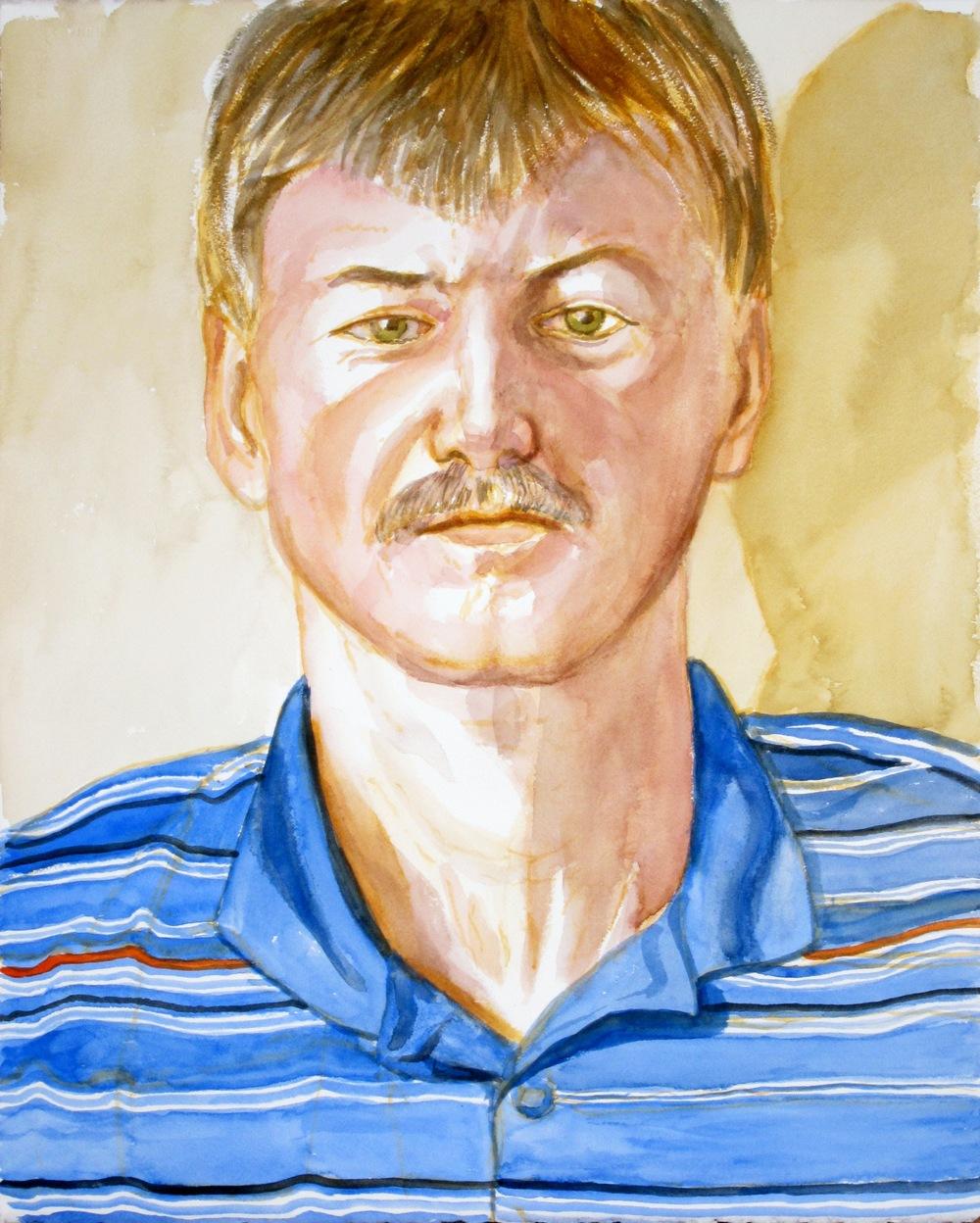 Brendan O'Reilly , 2012 Watercolor 16.125 x 20.125 in