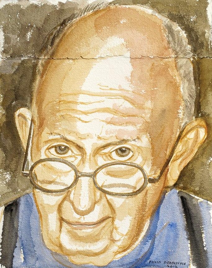 Self Portrait , 2012 Watercolor 14 x 11 in