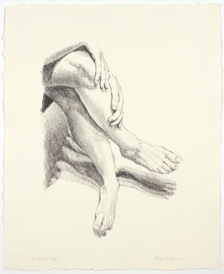 Legs , 1978 Lithograph 17 x 14 in
