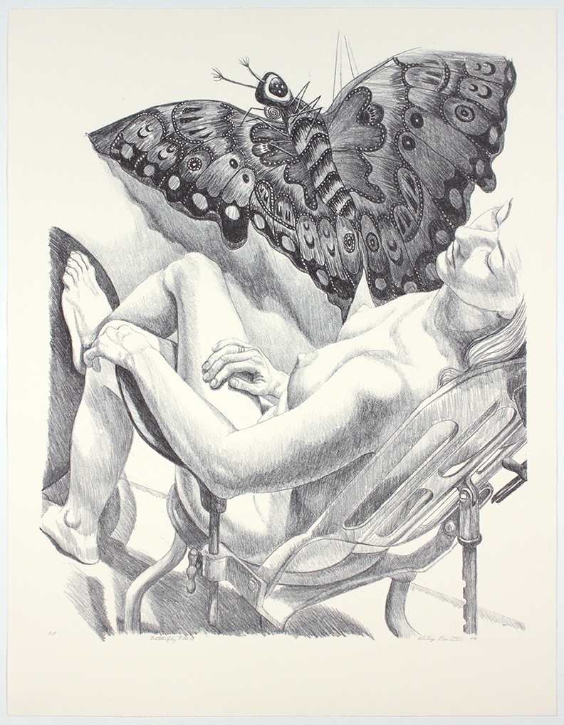 Butterfly Kite III , 2006 Photolithograph 36.75 x 28.5 in