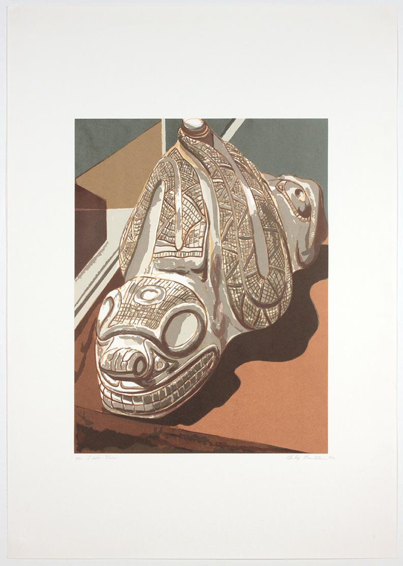 Idolo Taíno , 1992 Print 39.25 x 27.5 in