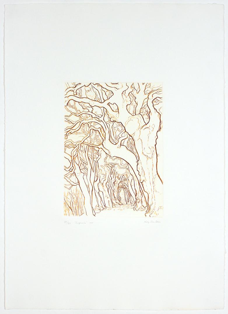 Ragnaia , 1989 Etching 12 x 8.875 in