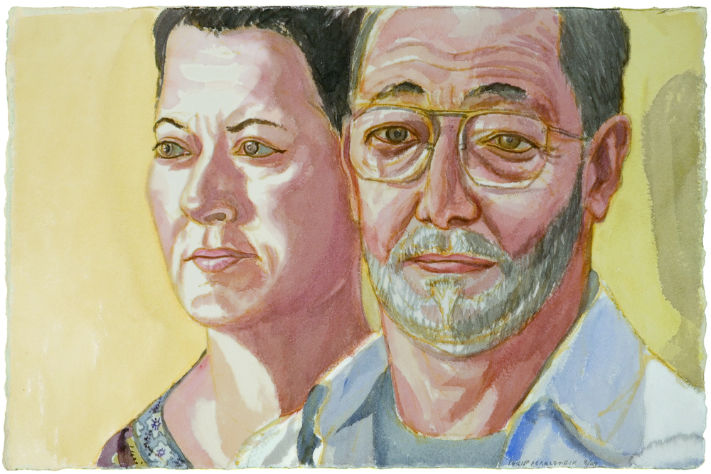 Steve and Lily Zane , 2009 Watercolor
