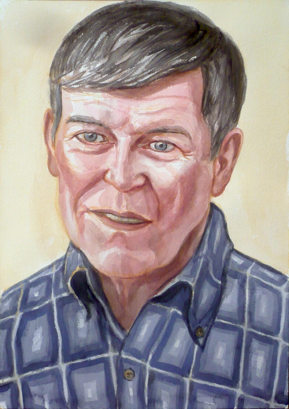 Clark Bebee , 2009 Watercolor
