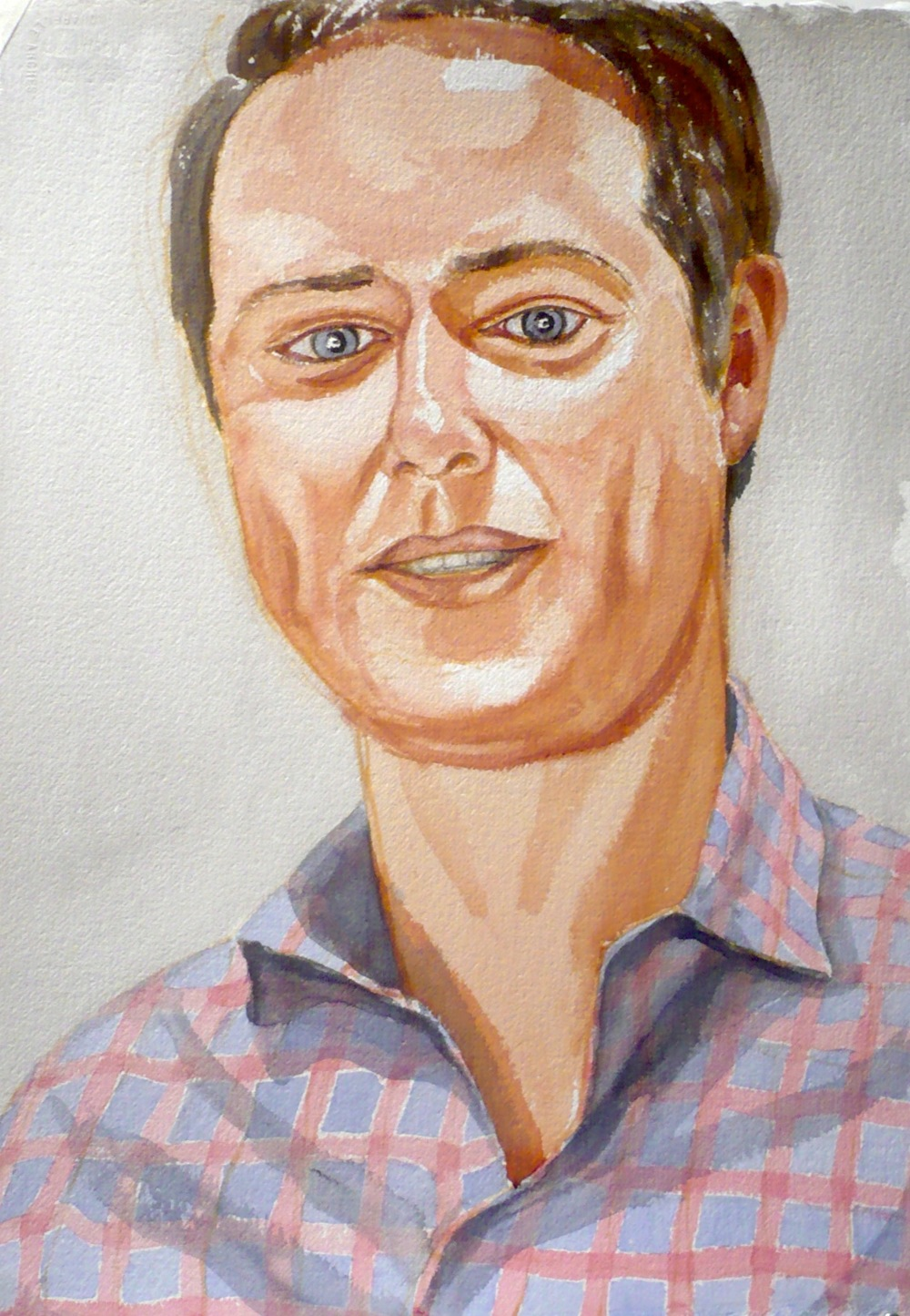 Max Dempsey , 2008 Watercolor 22.75 x 16 in