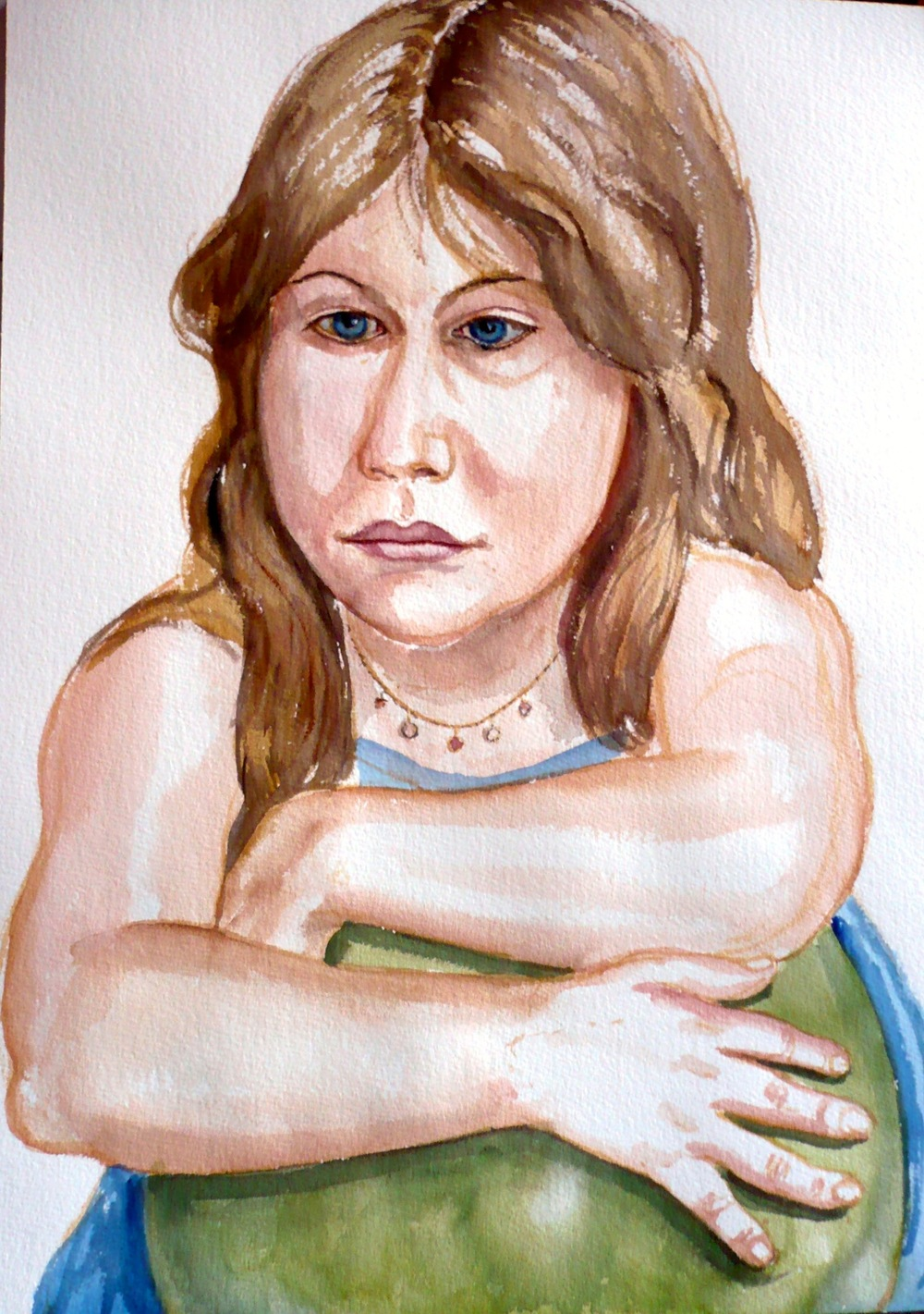 Zoe Cohen , 2007 Watercolor