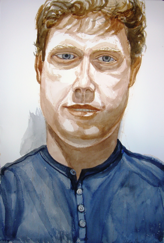 Philip Ennik , 2007 Watercolor
