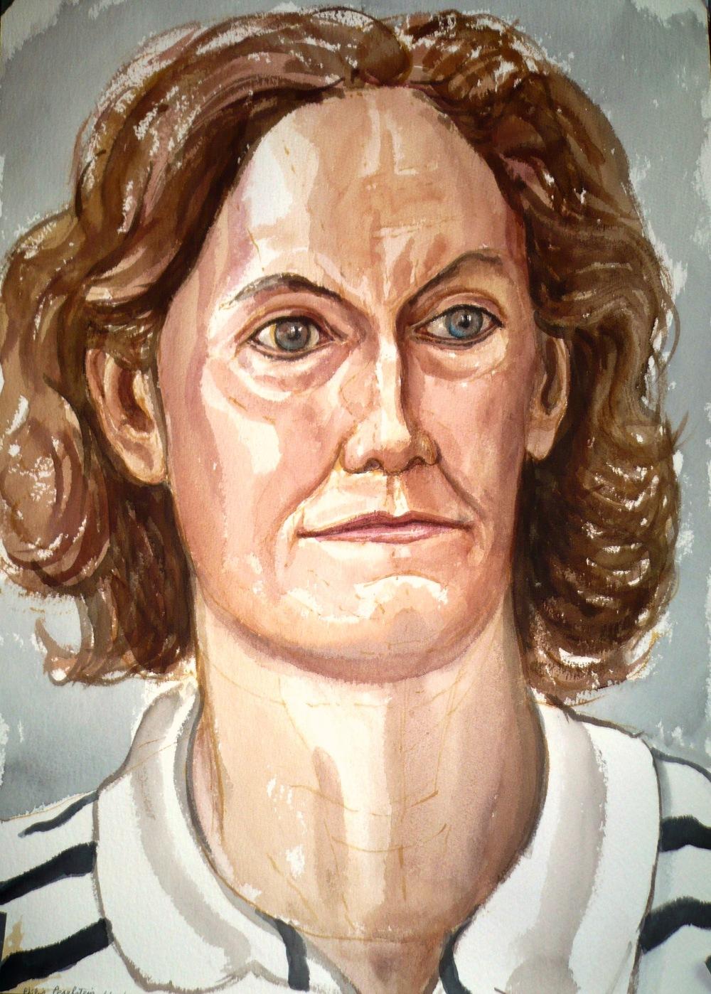 Judith Ginsberg , 2007 Watercolor