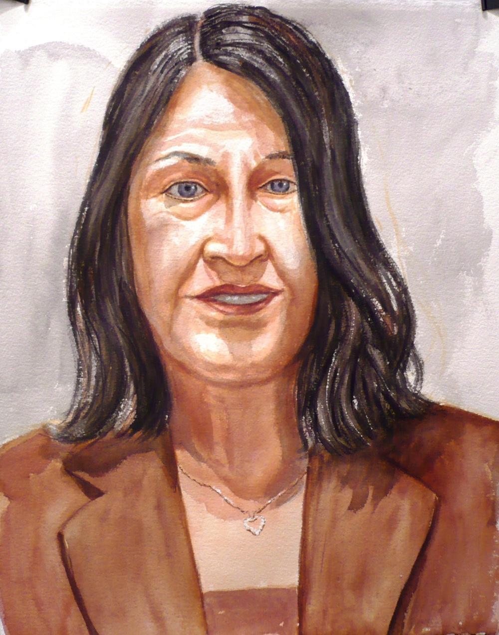 Diana Erdos , 2007 Watercolor
