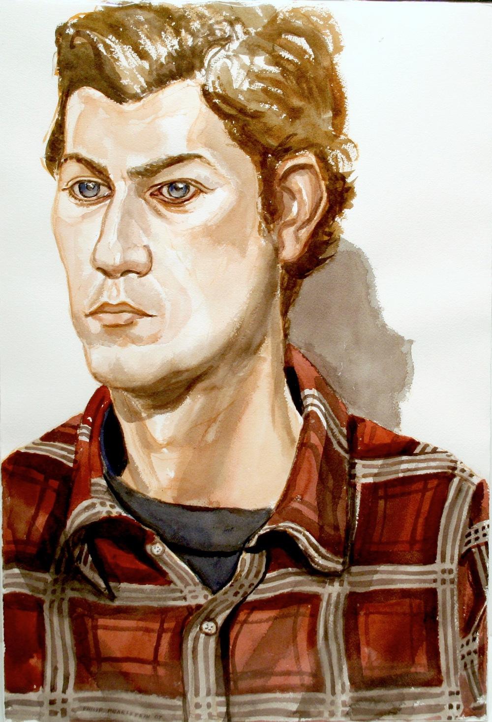 Adam Winner , 2007 Watercolor