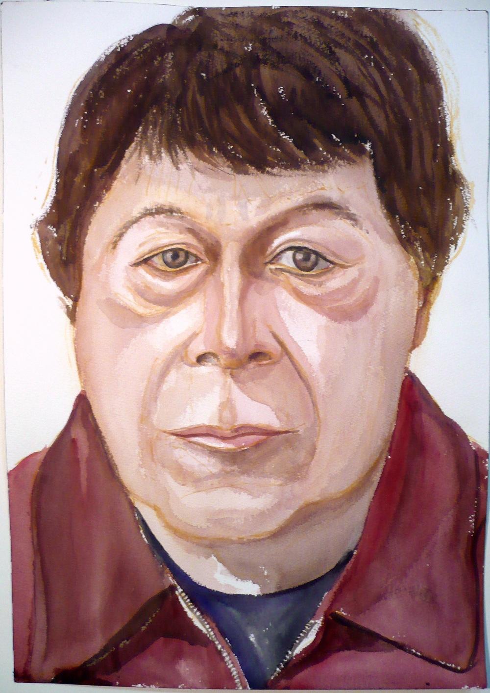 Bob Lambiente , 2007 Watercolor 20 x 14 in