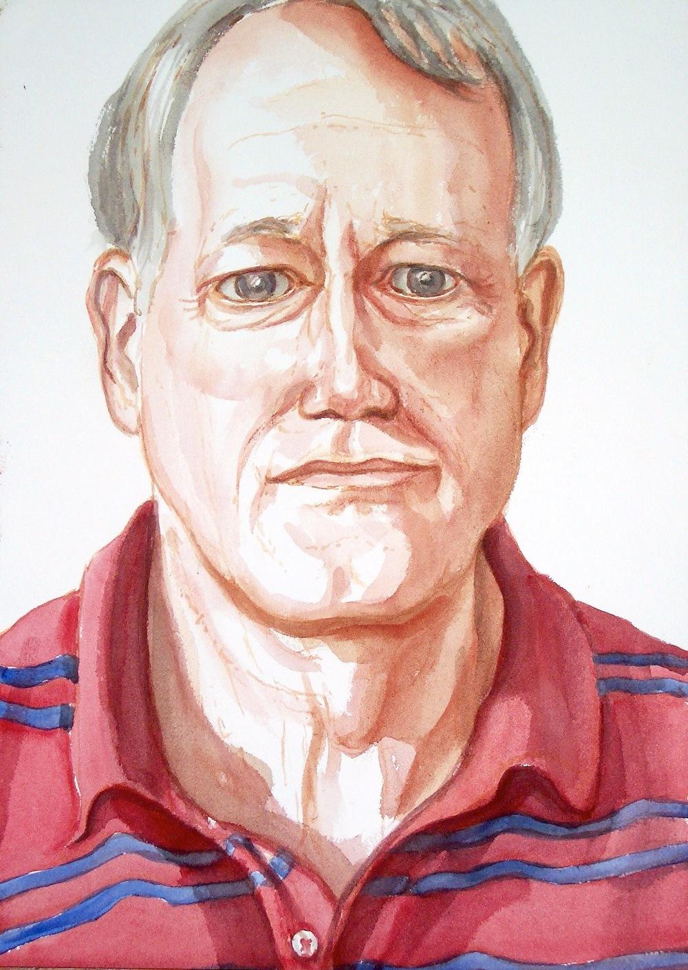 Wilke Pretorius , 2005 Watercolor