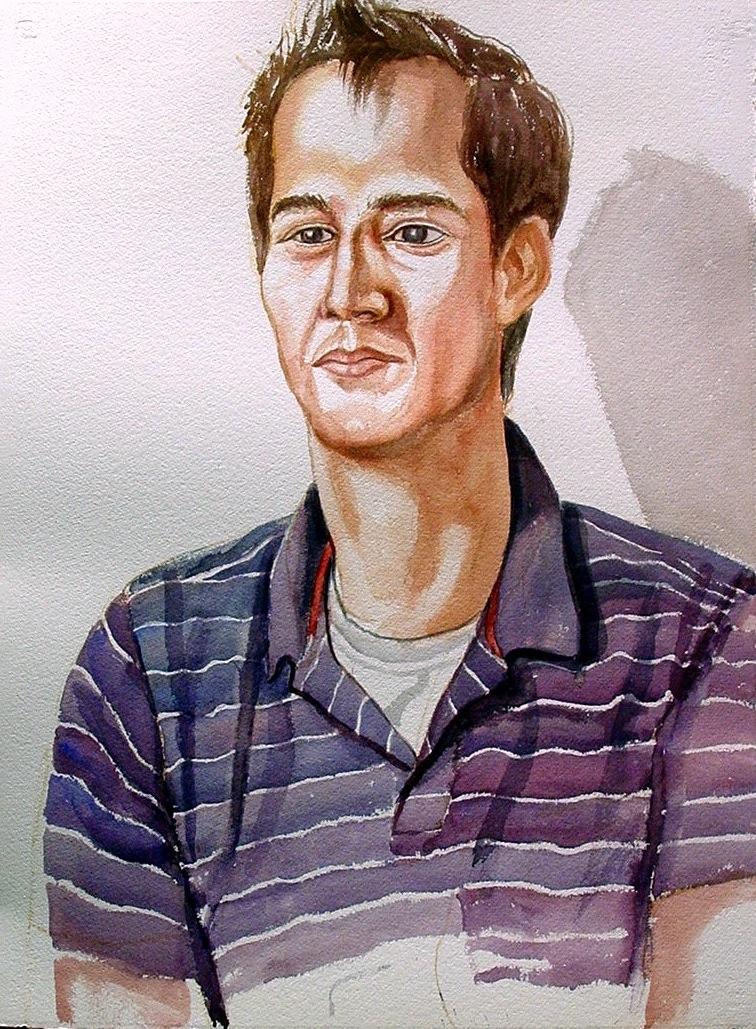 Frank Snider , 2005 Watercolor