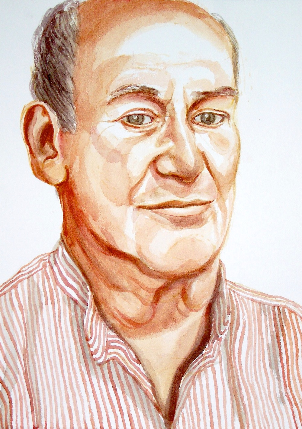 Don Price , 2005 Watercolor